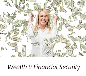 Woman with Money image