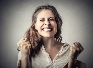 image of happy woman