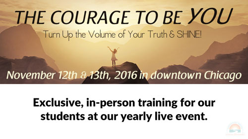 Courage To Be You Event